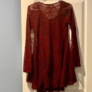 Romeo & Juliet Couture Dresses - Maroon dress, size S. Worn once.